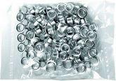 """Заклепки (люверсы) 6 мм """"ВРE - 01"""" (100 шт.) серебро"""