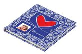 Блокнот 13.5х13.5см, 80 листов Love