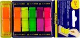 Закладки POP-UP (5+1)х40л. пластик NEON 45x12мм, ассорти
