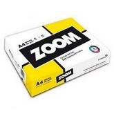 Офисная бумага Zoom А4, 80гм2, 500 л.