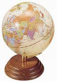 Глобус на деревянной подставке BESTAR 0909WPN, орех