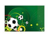 Подкладка для письма Футбол с карманом (распродажа)