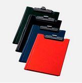 Клипборд-папка А5, PVC, темно-синий