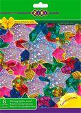 Набор картона цветного голографического А4, 8 цветов, 8 листов