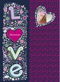 Школьный дневник 169x234мм, 54 лист. Love