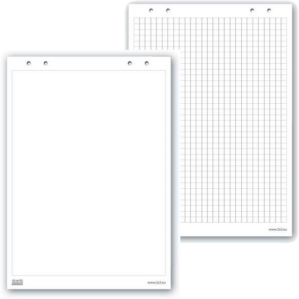 Блоки бумаги для флипчартов