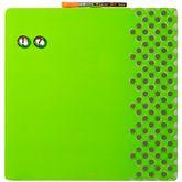 Доска магнитно-маркерная комбинированная 36х36 зеленая, без рамки