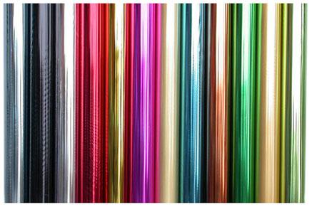 Фольга цветная для ламинации