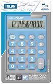 Калькулятор 10-разрядный TOUCH DUO, голубой