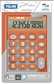 Калькулятор 10-разрядный, TOUCH DUO, оранжевый
