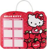 Доска маркерная с расписанием уроков Hello Kitty