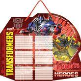 Доска с расписанием уроков (маркер в комплекте) Transformers