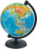 Глобус 220 мм физический
