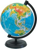 Глобус 260 мм физический