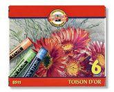 Пастельные мелки Toison D'or 8511, 6 цветов