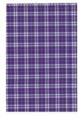 Блокнот на пружине, А4, 48 листов, клетка, картонная обложка, фиолетовый