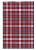 Блокнот на пружине, А4, 48 листов, клетка, картонная обложка, бордовый