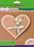 Набор цветного картона рельефного А5, 5 цветов, 5 листов