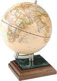 Глобус на подставке BESTAR 0927WPN, дерево-мрамор с ручкой, орех