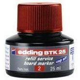 Чернила e-BTK25 для заправки маркеров для досок, красный