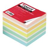 "Блок бумаги для заметок Elite ""Color"" 90х90х70 мм, не склеенный"