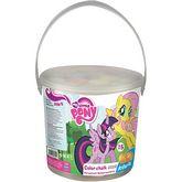 Мел цветной Jumbo, 15 шт. у ведерке My Little Pony