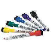 Набор маркеров для досокNOBOQuartetMini, 2-4 мм, 6 шт., ассорти