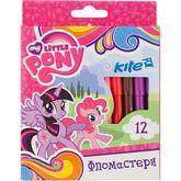 Фломастеры My Little Pony,Kite, 12 цветов