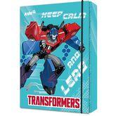 Папка картонная В5на резинке,Transformers