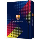 Папка картонная В5на резинке, FC Barcelona
