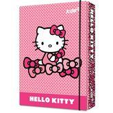 Папка картонная В5на резинке,Hello Kitty
