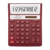 КалькуляторBS-777RD, 12 разрядов, красный