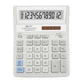 КалькуляторBS-777WH, 12 разрядов, белый
