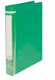 Папка на кольцах двухсторонняя Buromax, А4, 25 мм, 2R, зеленая