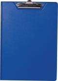 Клипборд-папкаА4,PVC,темно-синий