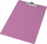КлипбордА4,PVC,розовый