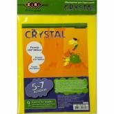 Обложки для книг Crystal с клапаном,5-7класс, 9 шт.