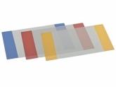 Обложки для тетрадей с цветными полями, А4, 5 шт.