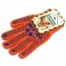 Перчатки трикотажные рабочие Doloni, р.10, оранжевые - №1