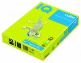 Бумага цвета неон IQ, А4/80, 500 л., NEOGN, зеленая