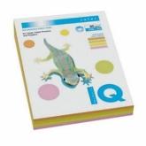 Набор бумаги цвета неон IQ, А4/80 (4х50/200л.), RB04