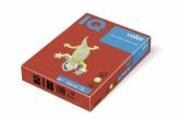 Бумага цвета интенсив IQ, А4/80, 500л. CO44, кораллово-красная