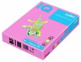 Бумага цвета неон IQ, А4/80, 500л. NEOPI, розовая