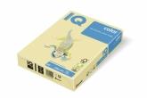 Бумага цвета пастель IQ, А4/80, 500л. YE23, желтая
