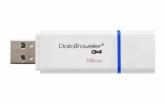 Флеш-памятьKingstonDataTravelerG4(White),16GB