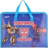 Портфель пластиковый, 1 отделение,A4, на молнии,Transformers
