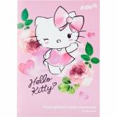 Бумага цветная неоновая А4, 10 листов, 5 цветов, Hello Kitty