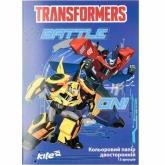 Бумага цветная двухсторонняя А4, 15 листов, 15 цветов, Transformers