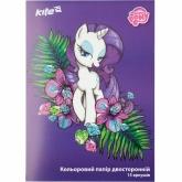 Бумага цветная двухсторонняя А4, 15 листов, 15 цветов, My Little Pony