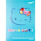 Бумага цветная двухсторонняя А4, 15 листов, 15 цветов, Hello Kitty